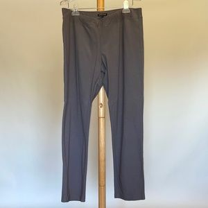 Eileen Fisher Grey Pull On Pants Sz L